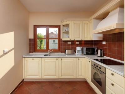 Open kitchen in Villa Liza on Island of Hvar