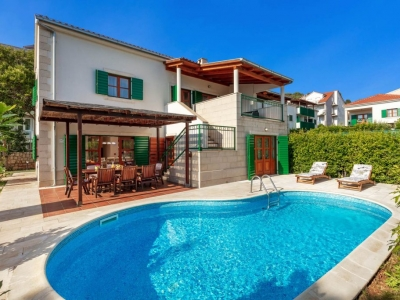 Villa Liza with swimming pool on Hvar island for rent